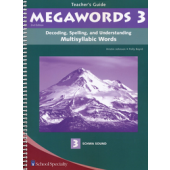 Megawords Book 3 Teacher's Guide, 2nd Edition