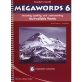Megawords Book 6 Teacher's Guide, 2nd Edition