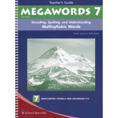 Megawords Book 7 Teacher's Guide, 2nd Edition