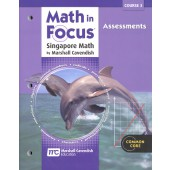 Math in Focus: The Singapore Approach Grade 8 (Course 3) Assessments