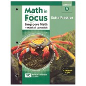 Math in Focus: The Singapore Approach Grade 7 (Course 2) Extra Practice A