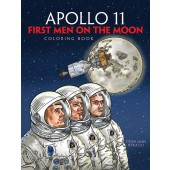 Apollo 11: First Men on the Moon Coloring Book (Dover Children's Science Series)