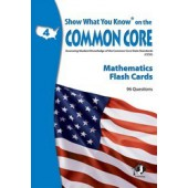 Show What You Know on the Common Core Math Gr 4 Flash Cards