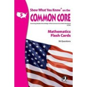 Show What You Know on the Common Core Math Gr 5 Flash Cards