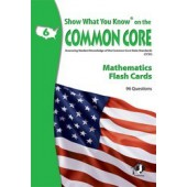 Show What You Know on the Common Core Reading Gr 6 Flash Cards