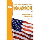 Show What You Know on the Common Core Reading Gr 7 Flash Cards