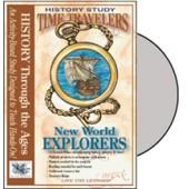 Time Travelers American History Study: New World Explorers CD