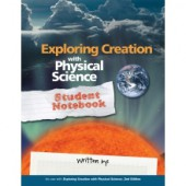 Exploring Creation with Physical Science Student Notebook (Apologia)
