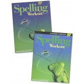 MCP Spelling Workout C, Grade 3 Homeschool Bundle (2001/2002 Ed)