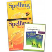 MCP Spelling Workout D, Grade 4 Homeschool Bundle (2001/2002 Ed)