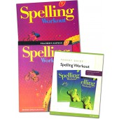 MCP Spelling Workout F, Grade 6 Homeschool Bundle (2001/2002 Ed)