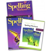 MCP Spelling Workout H, Grade 8 Homeschool Bundle (2001/2002 Ed)