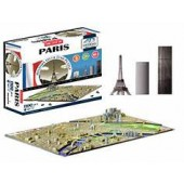 4D Cityscape Paris Puzzle