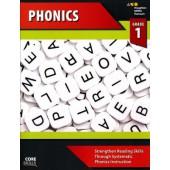 Steck-Vaughn Core Skills Phonics Workbook Grade 1