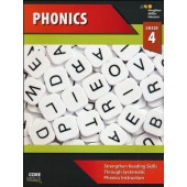 Steck-Vaughn Core Skills Phonics Workbook Grade 4