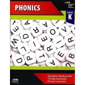 Steck-Vaughn Core Skills Phonics Workbook Grade K