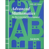Saxon Advanced Mathematics Solutions Manual (2nd Edition)