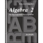Saxon Algebra 2 Tests (3rd Edition)
