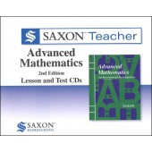 Saxon Advanced Math Teacher CD-ROM Set