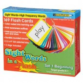 Sight Words in a Flash™ Color-coded Flash Cards, Grades K–1, Set 1 Beginning