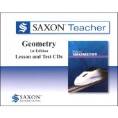 Saxon Geometry Teacher CD-ROM Set
