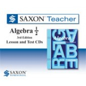 Saxon Algebra 1/2 Teacher CD-ROM Set (3rd Edition)