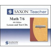 Saxon Math 76 Teacher CD-ROM Set
