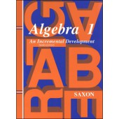 Saxon Algebra 1 Textbook (3rd Edition)