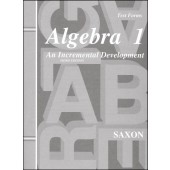 Saxon Algebra 1 Test Forms (3rd Edition)