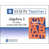 Saxon Algebra 1 Teacher CD-ROM Set