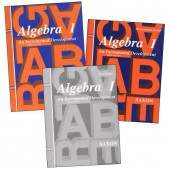 Saxon Algebra 1 Homeschool Kit (3rd Edition)