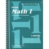 Saxon Math 1 Homeschool Teacher's Manual