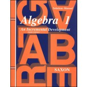 Saxon Algebra 1 Solutions Manual (3rd Edition)