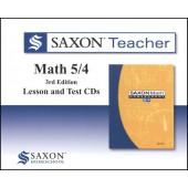 Saxon Math 54 Teacher CD-ROM Set (3rd Edition)