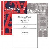 Saxon Algebra 2 Homeschool Kit (3rd Edition)