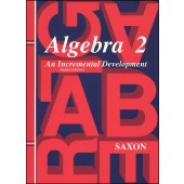 Saxon Algebra 2 Textbook (3rd Edition)
