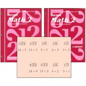 Saxon Math 2 Student Workbook & Fact Cards