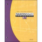 Saxon Math 87  Tests and Worksheets (3rd Edition)