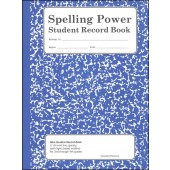 Spelling Power Student Record Book - Blue