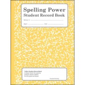 Spelling Power Student  Record Book - Yellow