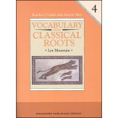 Vocabulary From Classical Roots Grade 4 Teacher Guide