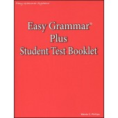 Easy Grammar Plus Test Booklet