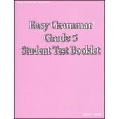 Easy Grammar Grade 5 Test Booklet