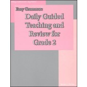 Easy Grammar Daily Guided Teaching & Review Grade 2