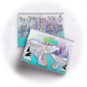 Polar Critters Coloring Book - Earth Art International