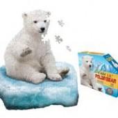 I AM LiL Polar Bear 100-Piece Puzzle