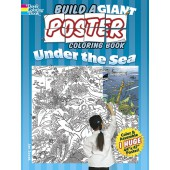Build a Giant Poster Coloring Book -- Under the Sea