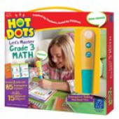 Hot Dots® Let's Master Grade-3 Math