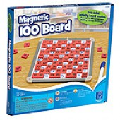 Magnetic 100 Number Board