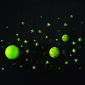 GeoSafari® Glow-in-the-Dark Planets & Stars Set
